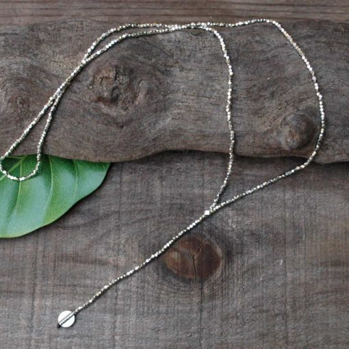 centered necklace