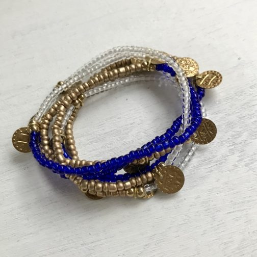 Shine Wrap Bracelet by Baizaar Jewelry.